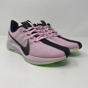 Nike-Zoom-Pegasus-35-Turbo-Women-s-Running-Shoes-Pink-Black-AJ4115-601-Size-8-5