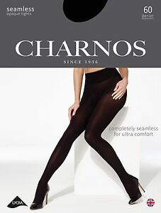 e2a3c3b0a7f Image is loading Charnos-Seamless-60-Denier-Opaque-Tights