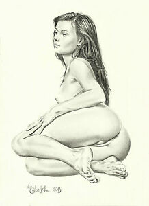 nude masterbate Drawing women