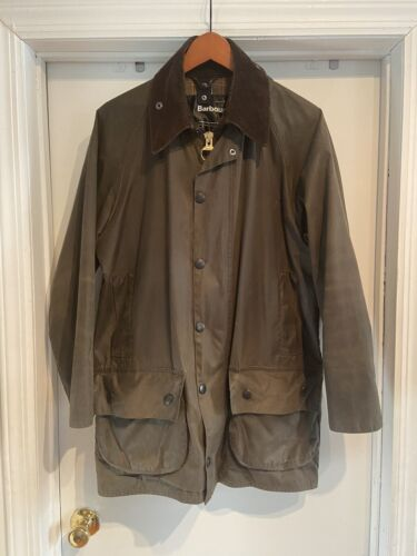 BARBOUR CLASSIC BEAUFORT® WAX JACKET OLIVE 38