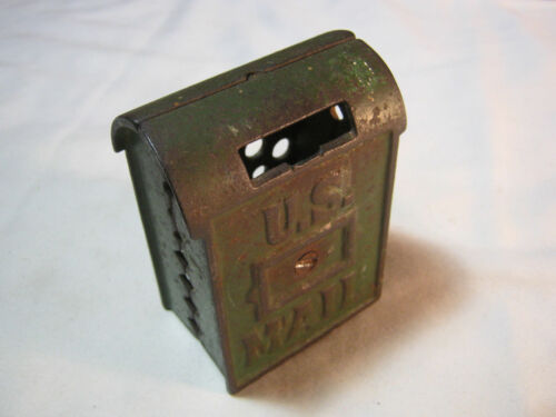 OLD U.S. MAIL CAST IRON STILL BANK FREE SHIPPING T
