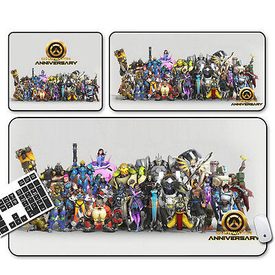 Overwatch Large Gaming Mousepad Speed Edition Mouse Pad Mat Anti-Slip Extended