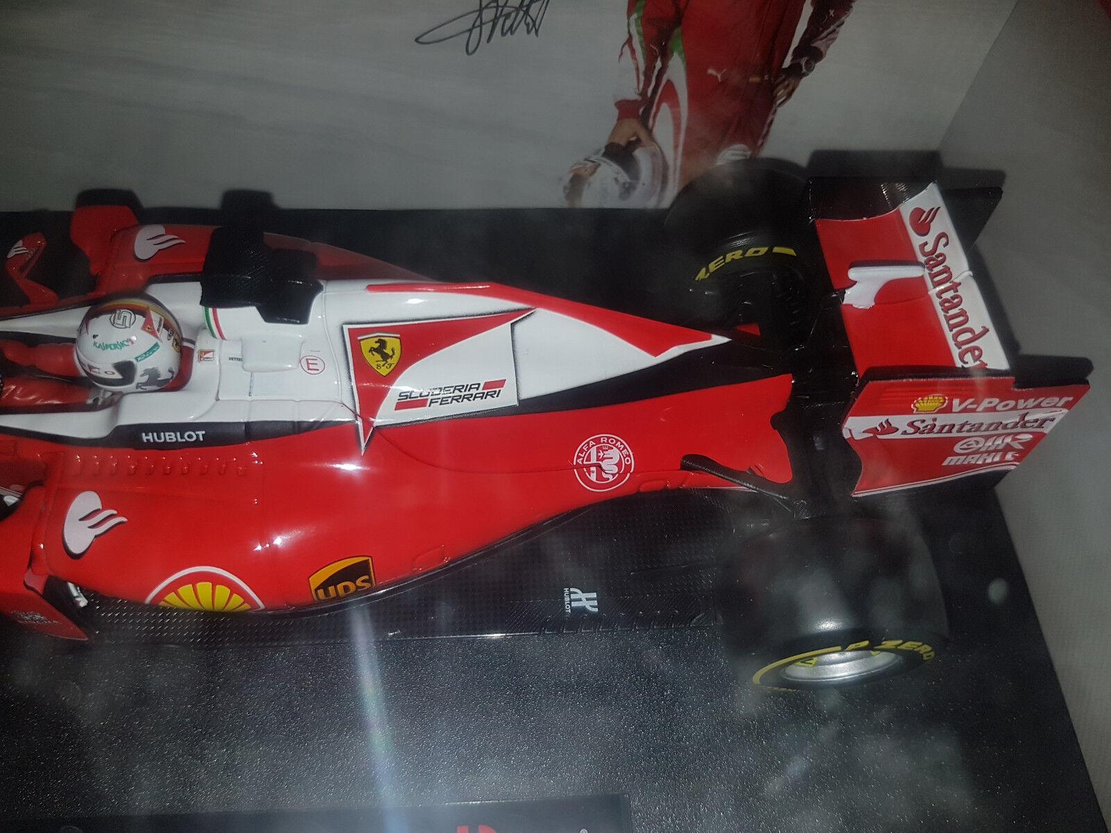 Ferrari Racing F1 SF16-H S. Vettel - 2016 - Bburago Bburago Bburago 1 18 - Nuova 050960