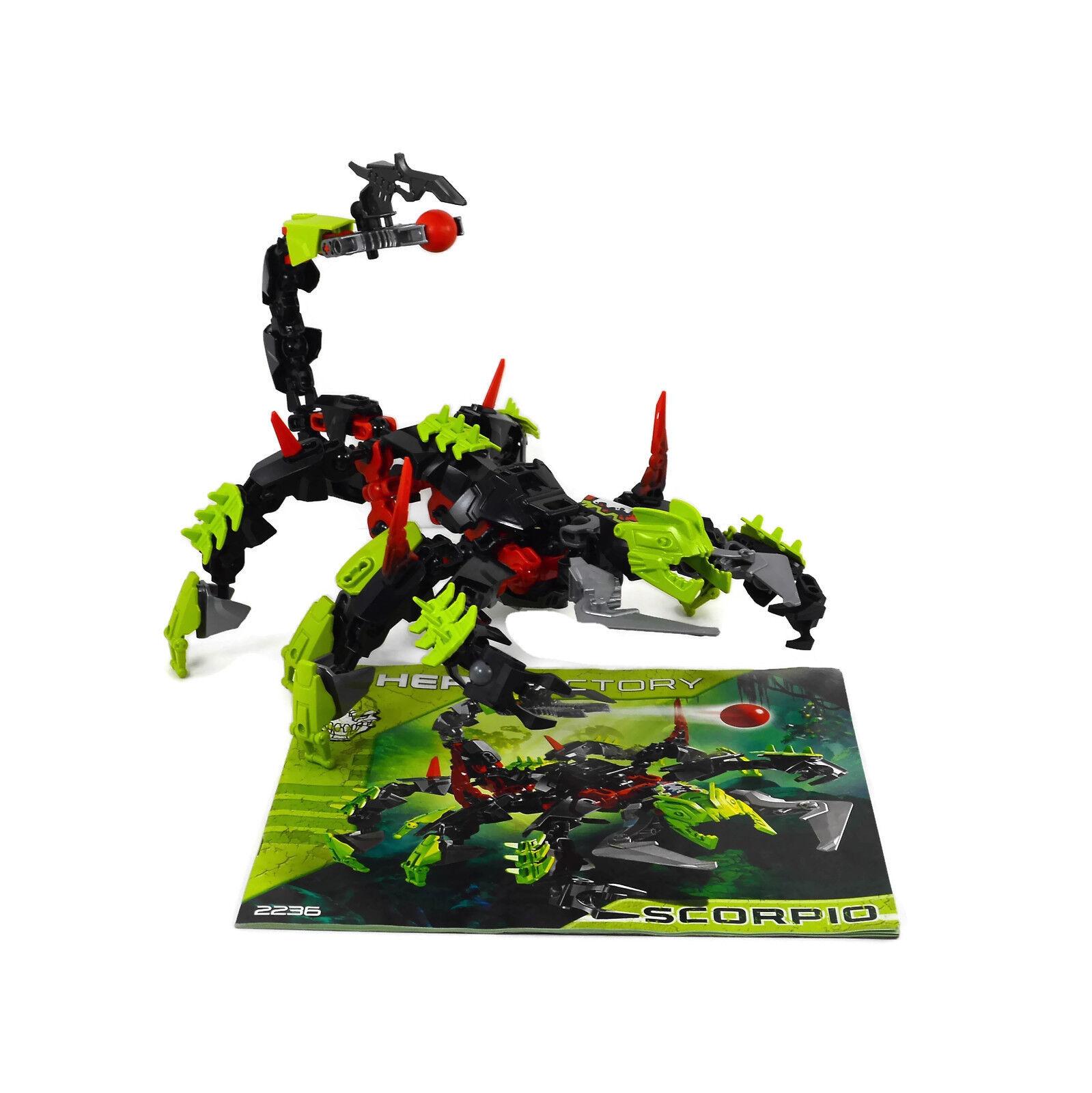 Factory Lego Hero Scorpio 2236 With Complete rdxBCeo