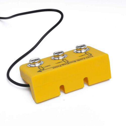 No.9-359-1 abgewinkelt ESD Erdungsbaustein 3x10mm DK mit Kabel