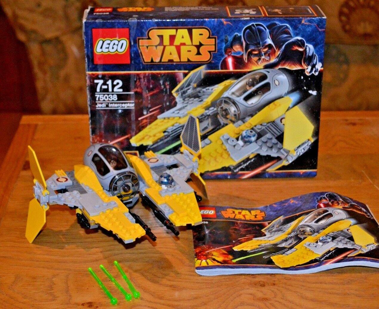 LEGO Star Wars Jedi Jedi Jedi Interceptor - 75038 - 100% Complete; Boxed with Mini Figures f91fdf