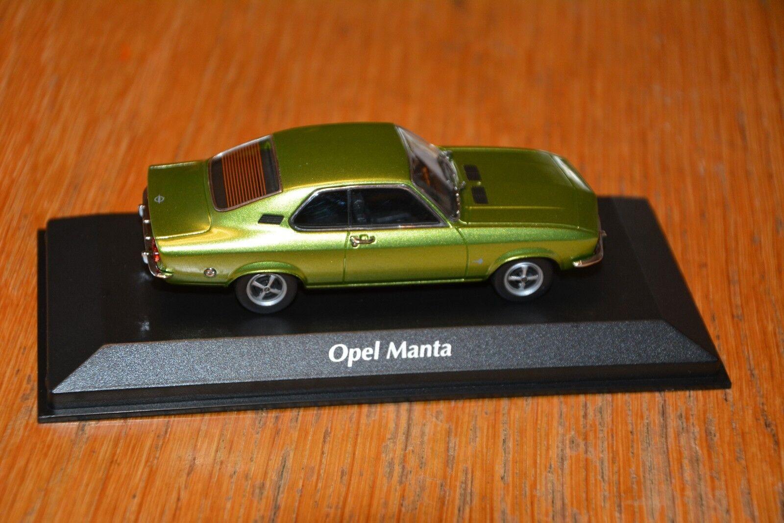 940 045501 Opel Manta A grünmetallic  neu 1 43    Verrückter Preis