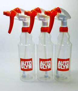 Autoglym-3-x-Calibrated-Trigger-Spray-Bottle-500ml-Valeting-Free-P-amp-P