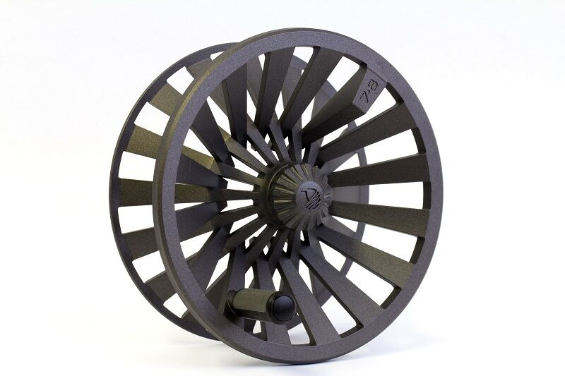 rödington Behemoth Extra Spool, Storlek 11 12, Färg Gunmetal, Ny