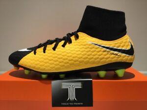 competitive price 9ca44 d4939 Image is loading Nike-Hypervenom-Phelon-3-DF-AG-PRO-917763-