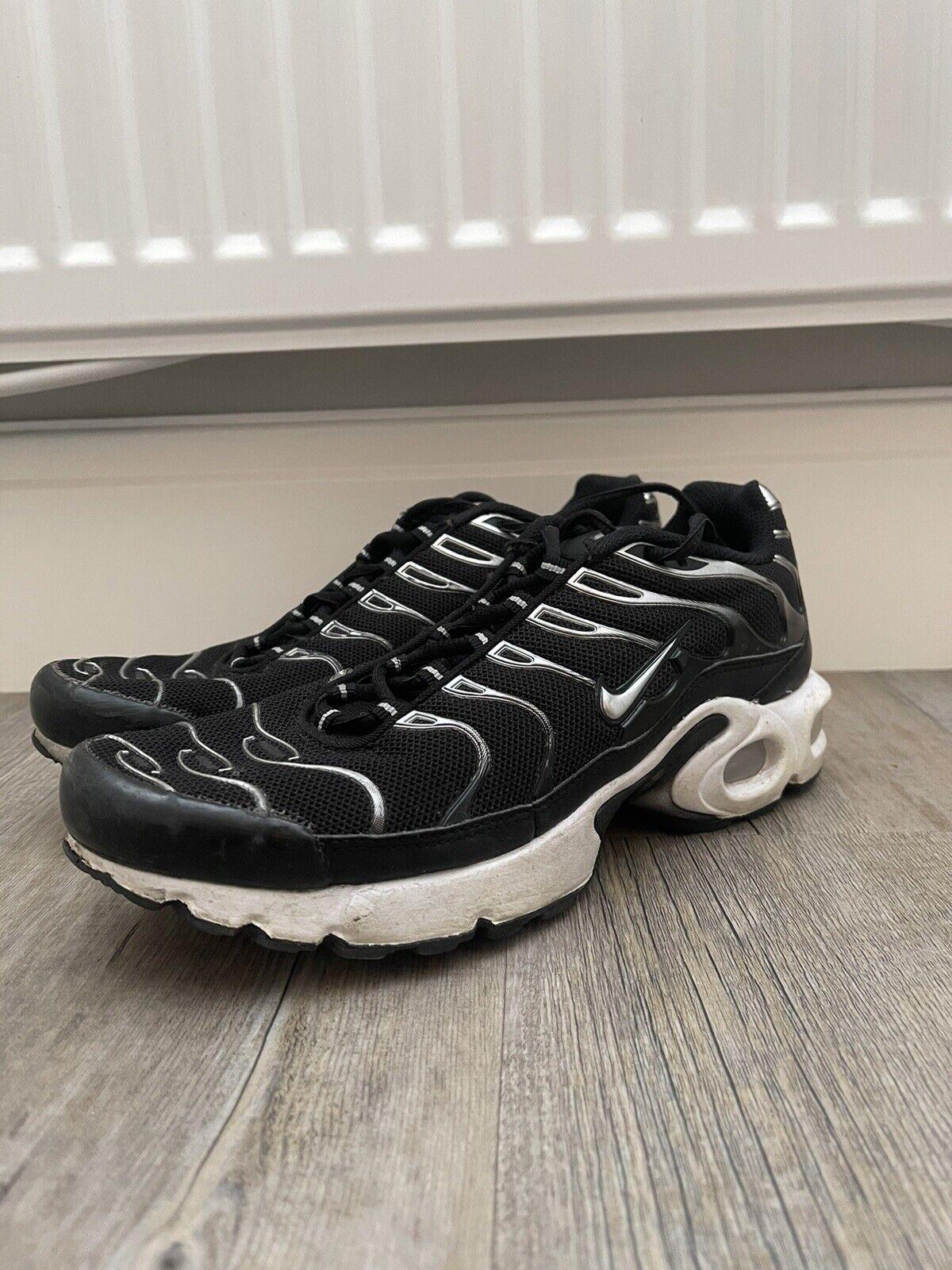 Men's Black Nike Air Max TN Tuned 1 UK 6
