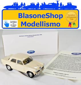 Alfa-Romeo-Giulietta-Berlina-II-Serie-1959-1-18-La-Miniminiera-Resina-Limited