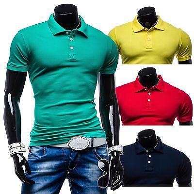 Glo-Story 5408 Poloshirt Herren Polohemd Polo Shirt Hemd Shirt T-shirt 3C3 Slim