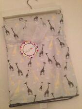 Mon Lapin Baby Boy Animal Print Blanket Ivory Grey Blue Cheetah Leopard Layette