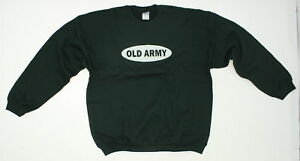 NEW-Gildan-Ultra-Cotton-Mens-Funny-Graphic-Sweatshirt-Forest-Green-X-Large-02630