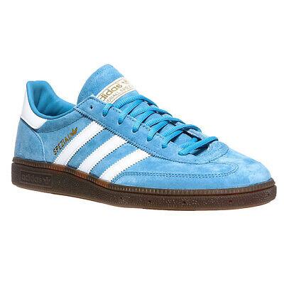 Adidas Originals Spezial Da Uomo In Pelle Scamosciata Scarpe Da Ginnastica Pallamano Scarpe Blu Chiaro Bd7632-mostra Il Titolo Originale