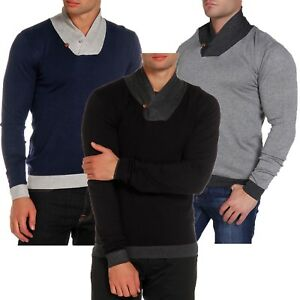 Details about Men's Kensington Eastside Jumper Sweater Pullover Winter Knitwear Stanbury1A4577