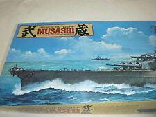 k-1/350  MUSASHI-JAPANESE BATTLESHIP- OLD  TAMIYA SHIP MODEL KIT