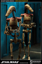 Star Wars - Security Battle Droids Sixth Scale Figures - Sideshow