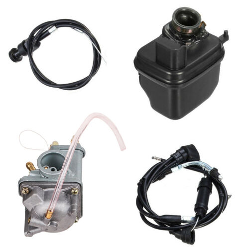 Carburetor Air Filter /& Throttle Choke Cable Carb for 81-16 Yamaha YZinger PW50