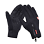 thumbnail 13 - Leather Cycling Gloves Windstopper Soft Warm Winter Motorcycle Biking Gloves New