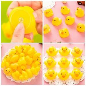 10pcs-set-Mini-PVC-Yellow-Duck-Toys-Souding-Duckie-Toys-Baby-Kids-Bath-Water-Toy