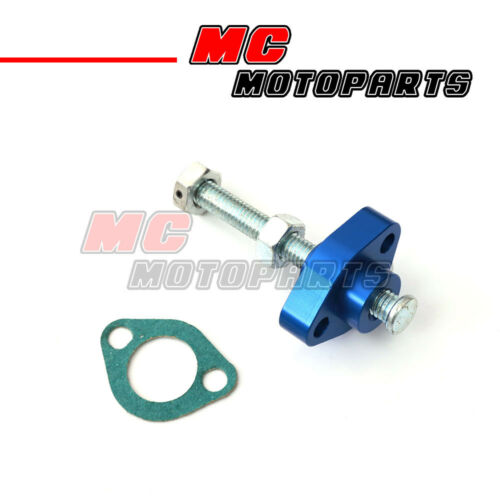 Blue CNC Manual Cam Chain Tensioner For ATV TRX 300 Fourtrax 88-96 97 98 99 00