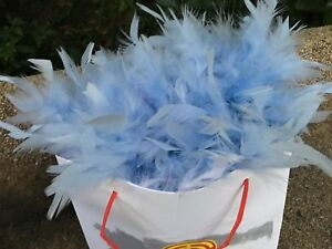 Chandelle Feather Boa Fluffy Turkey Feather Boa 60g 2 Yards Thick Boas 7 colors!