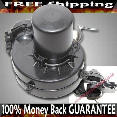 "BLACK 3"" Electric Turbocharger/Supercharger Cold Air Intake Generator"