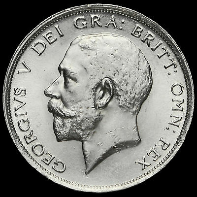 1918 George V Silver Half Crown, EF