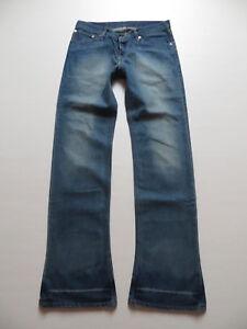 Levi-039-s-518-Bootcut-Jeans-Hose-W-34-L-36-Flat-Stanley-Vintage-Denim-Shoecut