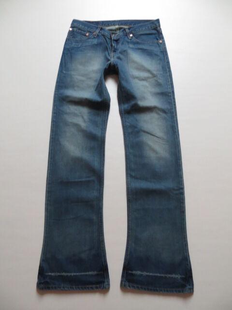 Levi's 518 Bootcut Jeans Hose, W 34 /L 36, Flat Stanley Vintage Denim, Shoecut !