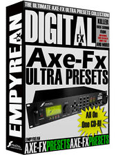 Fractal Axe Fx Ultra Standard ULTIMATE Guitar Presets Patches Effects Settings