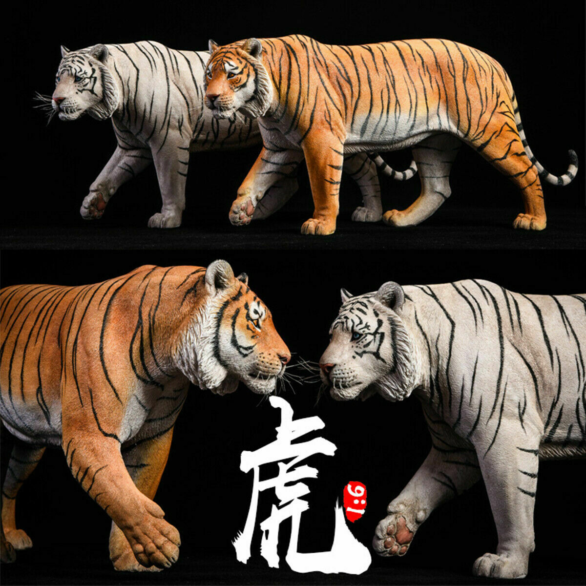 JxK 1 6 Bengal Tiger bianca Tiger cifra Animal  modellololo Collector Felid giocattolo Gift  migliore marca