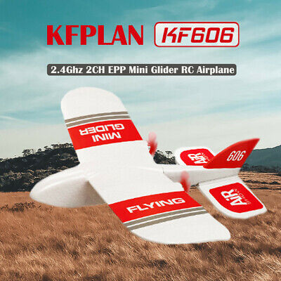 KF606 2.4G 3CH EPP 180mm Wingspan 3-Axis Glider RC Airplane Built-in DIY Drone