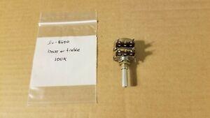 Technics SU-8600 amplifier bass or treble control potentiometer EWF0WA038C15