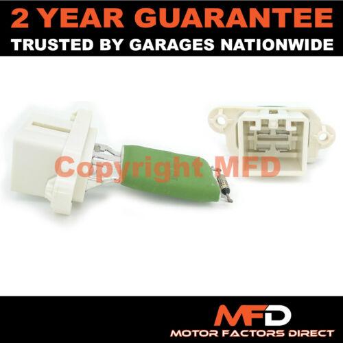 2002-2009 Riscaldatore Ventilatore Ventilatore Resistore FORD FIESTA MK 6 1.4 Benzina