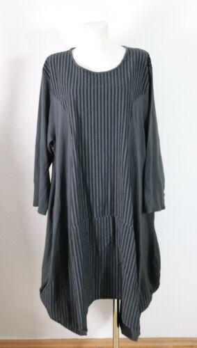 52 XXL Rayures Moonshine Lagenlook Nouveau Zipfel Fashion XL Robe contrastées 54 50 qIvvw1x0C