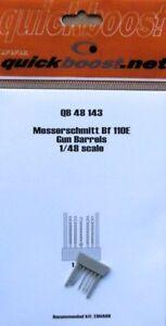 Quickboost-1-48-Messerschmitt-Bf110E-Gun-Barrels-for-Eduard-kits-48143