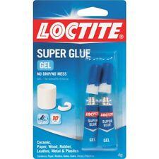 2 Cards Loctite Super Glue Gel