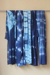 10-Pcs-Wholesale-lot-of-Shibori-Print-Sarong-Indigo-Blue-Hippy-Sexy-Beach-Pareo