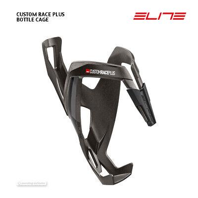 Titanium//Black Elite Custom Race Plus Resin Bottle Cage