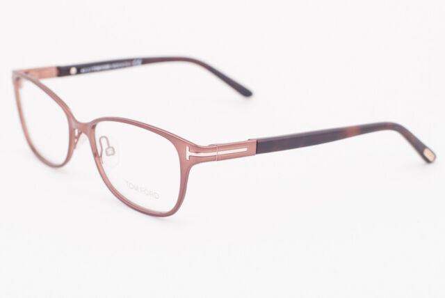 7ac50d3b66 Buy Tom Ford Ft5282 048 Shiny Dark Brown Eyeglasses Made in Italy ...