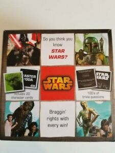 Details about STAR WARS Trivia Box Game Movie Cards Questions Trilogy Toys  Unisex Disney Quiz