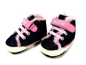 Dettagli su Pantofole Scarpe Sportive Bambini 1er Epoca Guess Blu e Rosa