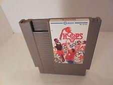 Hoops Basketball Nintendo NES Good Shape *Cleaned & Tested*