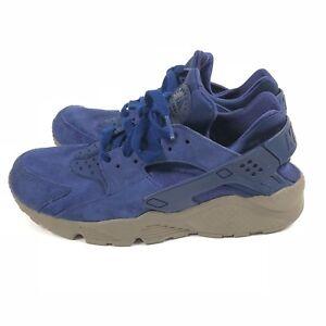 1e0cd9aca121 Nike Air Huarache Run PRM Sneaker Mens Size 9 Blue Mushroom Low Top ...