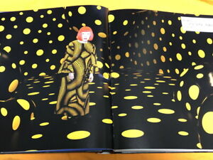 KUSAMA YAYOI My art big size book from Japan Japanese #1154