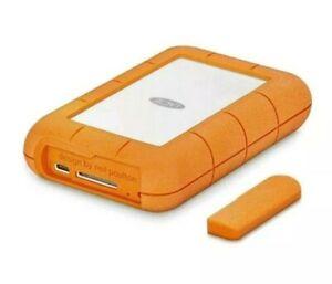 Lacie-4tb-robusto-RAID-E-USB-C-Pro-USB-3-0-hard-disk-portatile-integrato-NUOVO