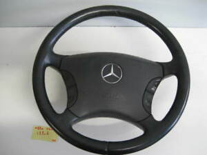 Mercedes-Benz-W220-S500-S600-S430-4MATIC-STEERING-WHEEL-AIRBAG-BLACK
